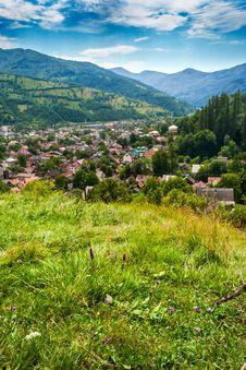 Free Town In Mountains Stock Photo - 30280300
