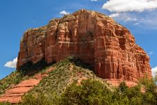 Free Courthouse Butte Sedona Stock Image - 30280491