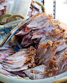 Sea Food At Market Stock Image