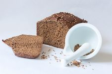 Free Traditional Russian Black Bread Royalty Free Stock Image - 30280596