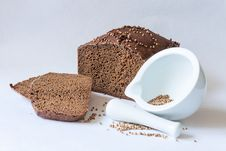 Free Traditional Russian Black Bread Stock Images - 30280604