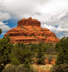 Free Bell Rock Sedona Royalty Free Stock Images - 30280709