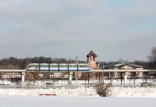Free Monorail In Moscow Royalty Free Stock Photos - 30281688