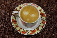 Free Espresso. Royalty Free Stock Photo - 30282035