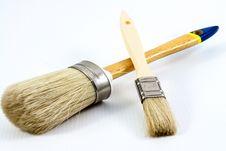 Free Paint Brushes Stock Photo - 30282470