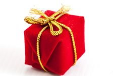 Free Red Gift Stock Photography - 30282782