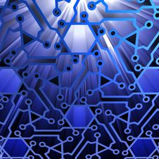 Free Abstract Technology Background Royalty Free Stock Photo - 30283605