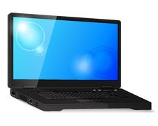 Free Black Laptop Stock Images - 30283794