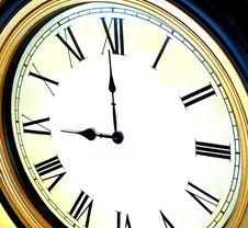 Free Wall Clock Stock Photo - 30287250
