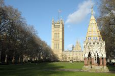 Free Palace Buxton Memorial Fountain Stock Images - 30288124
