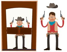 Free Cowboy In Action Stock Photos - 30288693