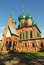Free Church Of St. John The Chrysostom In The Puzzle. Royalty Free Stock Photo - 30281635