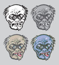 Free Zombie Face Hand Drawn Royalty Free Stock Photography - 30292687
