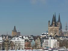Free Cologne Cityscape Stock Photo - 30291980