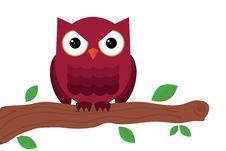 Free Owl Sitting On Tree Stock Photo - 30294330