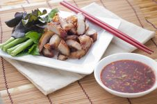 Free Roast Pork Thai Style Food Royalty Free Stock Photos - 30295078