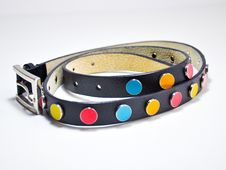 Free Colorful Belt For Girls Royalty Free Stock Photos - 30296708