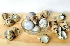 Free Quail Eggs. Royalty Free Stock Photos - 30298648