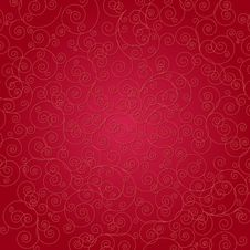 Free Red Scroll Background Stock Photography - 30299352