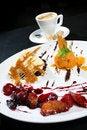 Free Ice Cream Dessert And Coffee Stock Photography - 3037912