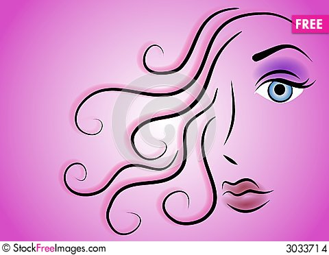 Female Face Beauty Clip Art 3 - Free Stock Photos & Images ...