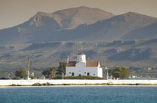 Free Church On Island Of Greece Stock Images - 3030064
