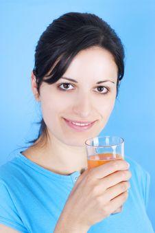 Free Drinking Juice Stock Image - 3030421