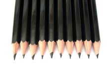 Free Many Pencils In Row Royalty Free Stock Photo - 3031665