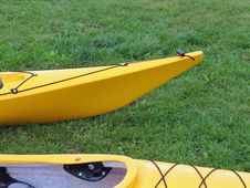Kayaks Ready For Action Stock Image
