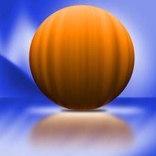 Free Big Orange Pumpkin Royalty Free Stock Photo - 3033715