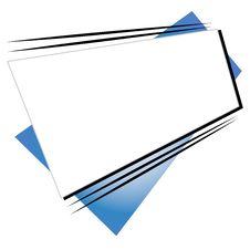 Retro Shapes Web Site Logo 3 Royalty Free Stock Image