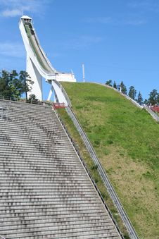 Holmenkollen Ski Jump Stock Photography
