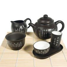 Free Chinese Tea Set Royalty Free Stock Image - 3034566