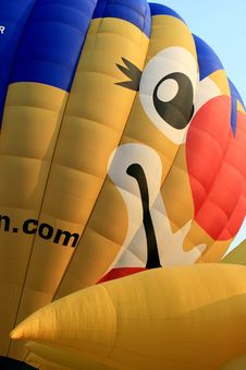 Free The Clown, A Hot Air Balloon Stock Image - 3034931