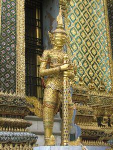 Free Bangkok Demon Stock Photography - 3036942