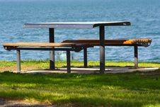 Free Picnic Table Stock Image - 3038721