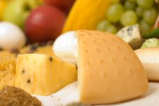 Free Cheese Detail Composition Royalty Free Stock Image - 3038816