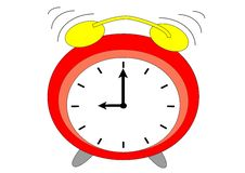 Free Alarm Clock Royalty Free Stock Photography - 30300747