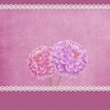 Free Floral Greeting Card Stock Images - 30306124