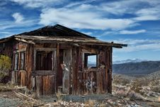 Free Decayed Cabin In Randsberg Royalty Free Stock Images - 30309329