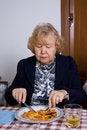 Free Elderly Woman Royalty Free Stock Image - 30317376