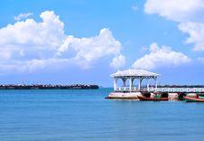 Free Beautiful Old Pavilion On Sichang Island At Sriracha Ampor ,chon Stock Photography - 30310222