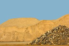Free Stone - Sand - Soil Royalty Free Stock Image - 30311276