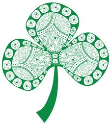 Free Clover Design Element Stock Photography - 30312142