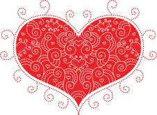 Free Red Valentine Heart Royalty Free Stock Image - 30312156