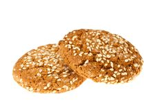 Free Oat Cookies Stock Photography - 30314152