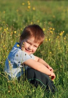 Free Little Boy Laughing Stock Photography - 30315452