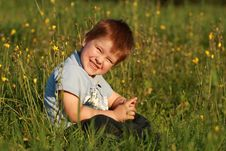 Free Little Boy Laughing Royalty Free Stock Photography - 30315547