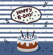 Free Birthday Cake Royalty Free Stock Photos - 30316108