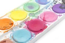 Free Old Watercolor Paint Royalty Free Stock Photography - 30316607